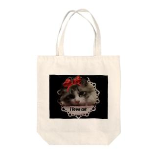 コスプレ★ニャンコ 2 Tote bags
