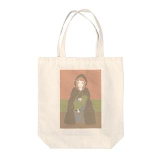 ジェダイちゃん Tote bags
