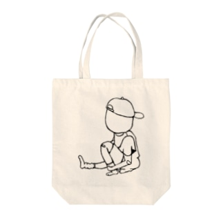 たまご野郎 Tote bags