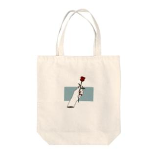 いちりん の ばら Tote bags
