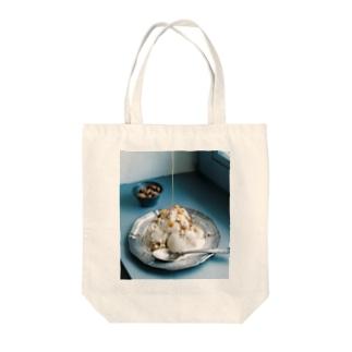 bfs art - ice cream Tote bags
