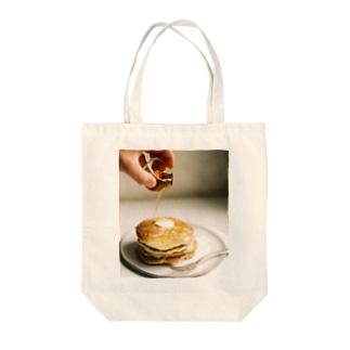 bfs art - pancakes Tote bags