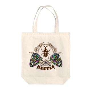 カブトムシ(BEETLE) Tote bags