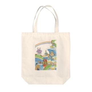 絃上もおどる海上音楽会 Tote bags