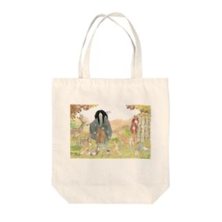 ある日の一角仙人 Tote bags