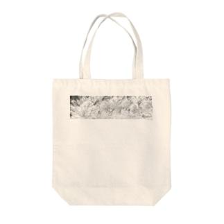 白銀の華 Tote bags