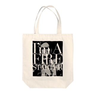 Firestarter Tote bags
