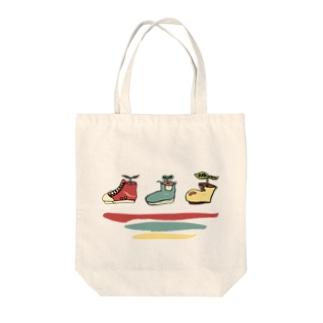 靴の植木鉢 Tote bags