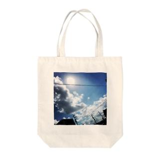青空*太陽光 Tote bags
