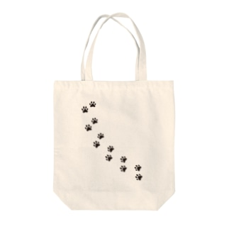 猫の足跡 Tote bags