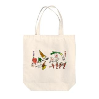 麻婆豆腐VS青椒肉絲 Tote bags