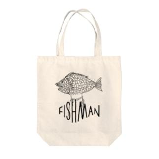 FISHMAN-fm02 Tote bags