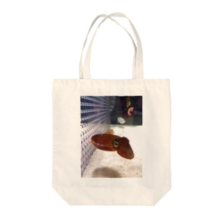 いかちゃん Tote bags