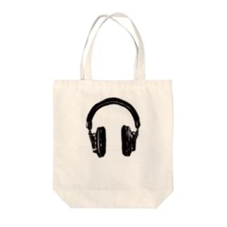 kaworu★ヘッドフォン Tote bags