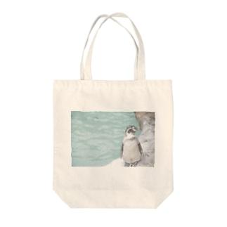 うちまたペンギン Tote bags