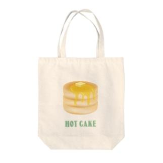 ホットケーキのトートバッグ はちみつ Tote Bag