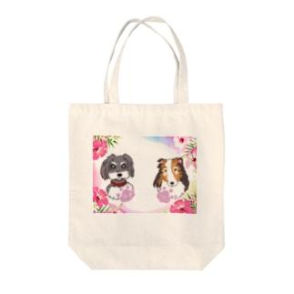 バロン君&ルナちゃん Tote bags