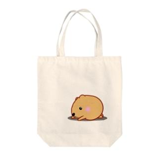 きゃぴばら【ふせ】 Tote bags