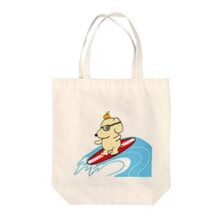 波乗りクソ犬 Tote Bag