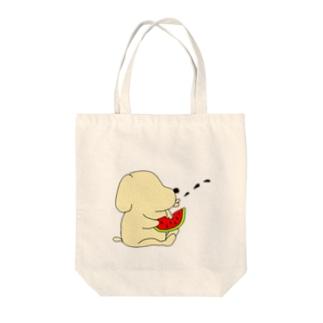 スイカ犬 Tote Bag