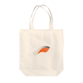 しゃけ Tote bags