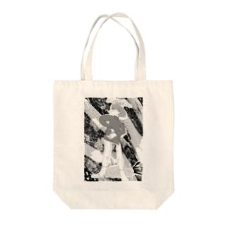 百姓幽霊 Tote bags