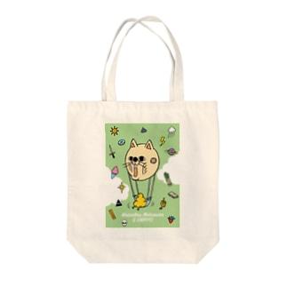 モーションレス松村とうんピヨ Tote bags