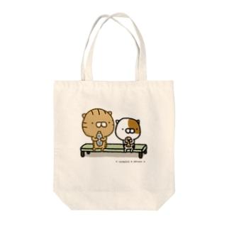 寅吉 お茶会 Tote bags