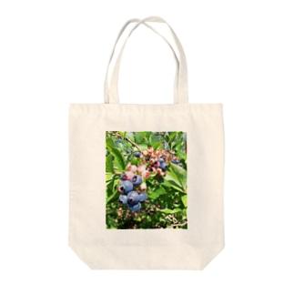 ブルーベリー① Tote bags