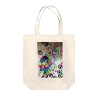スモーキンBOY Tote bags