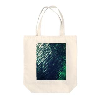 いわし銀河 Tote bags