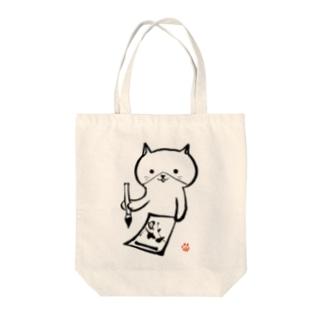猫書 Tote bags