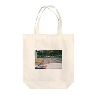 ゴーカート Tote bags