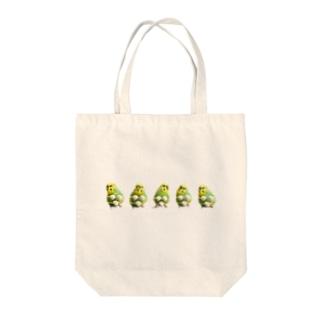夏のおかゆ 集合 Tote bags