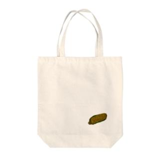とうもろこしの絵 Tote bags