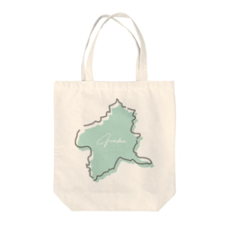 KAWAII-gunma Tote bags