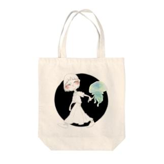 きみとさんぽ Tote bags