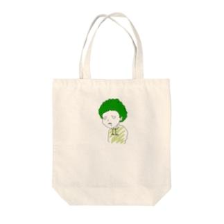ブロッコリーきゅん Tote bags