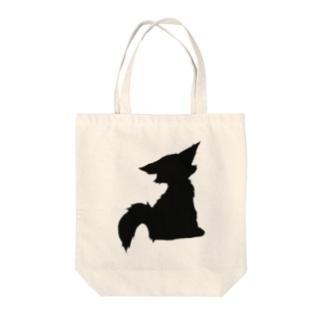 愛しき毛玉 Tote bags
