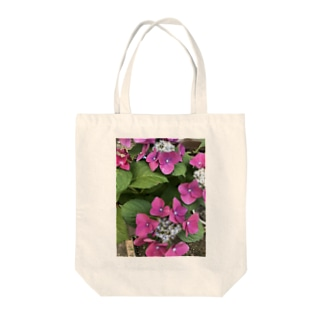 紫陽花Tシャツ Tote bags