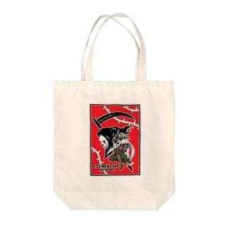 死神クレメンタイン・マーフィー Tote bags