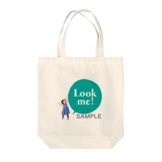 Look me!  photoグッズグリーン Tote bags