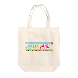 りずむくん Summer! Tote bags