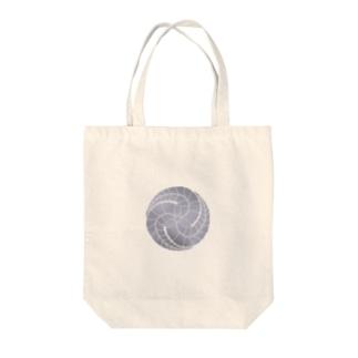 あ!官兵衛(官兵衛と地元をPR!)の藤巴紋(藤色) Tote bags