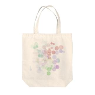 ポワポワ Tote bags