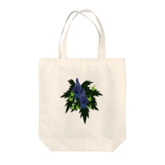 トリカブト Tote bags