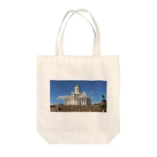 ヘルシンキ大聖堂 Tote bags