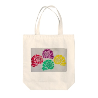 Colorful shells Tote bags