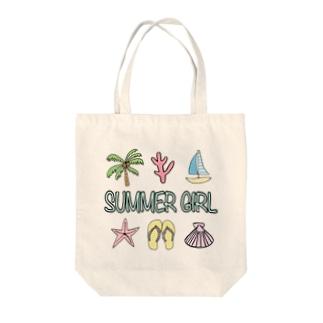 Summer Girl🌴 Tote bags