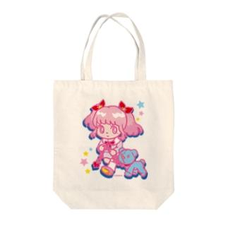 ONNANOKO【Pink】 Tote Bag